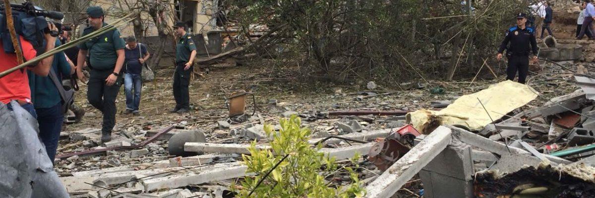 Ayudas para reparación de daños de explosión en Tui
